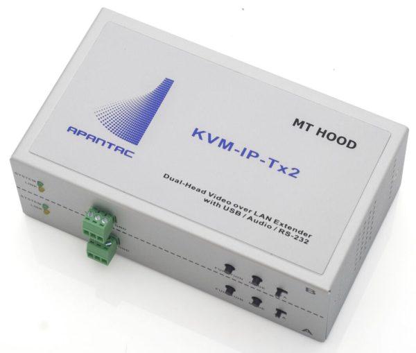 Déport KVM sur IP Double DVI