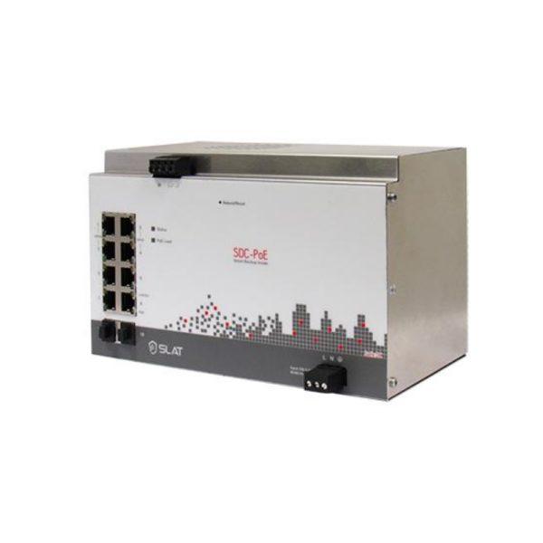 SDC-PoE8 Switch PoE avec batterie