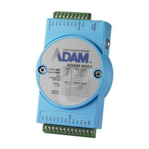 ADAM-6024 Entrée/Sortie sur Ethernet