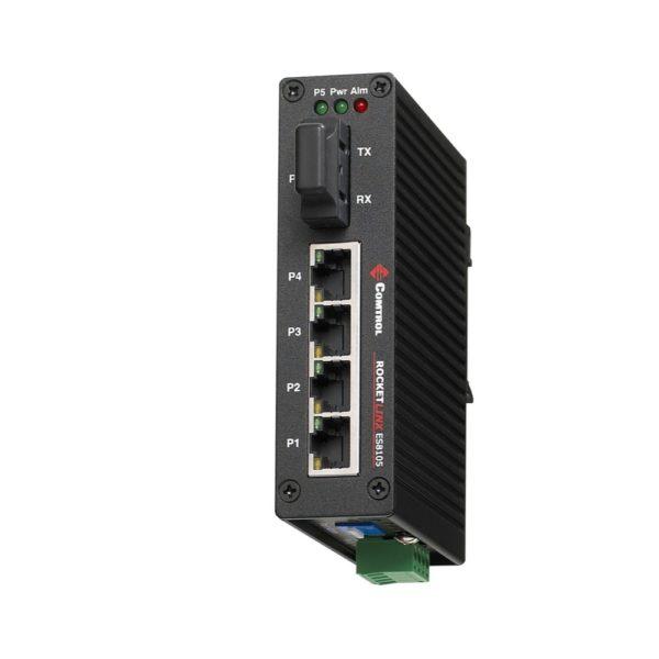 Comtrol RocketLinx ES8105F Fibre Optique