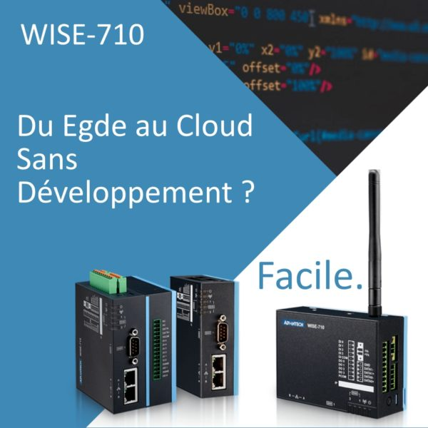 WISE-710 Passerelle Edge to Cloud