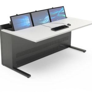 EGIC'DESK S.3 Mobilier pour salles de supervision à plateau décaissé