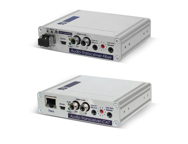 Déports Audio sur RJ45 et Fibre optique