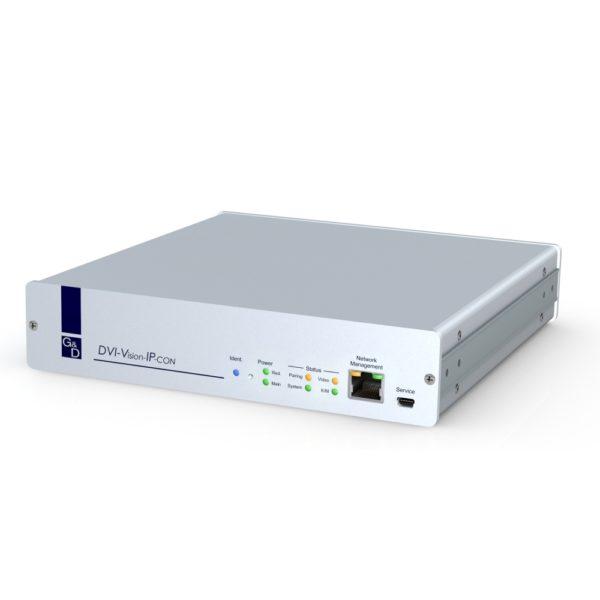 Face avant du récepteur KVM IP DVI