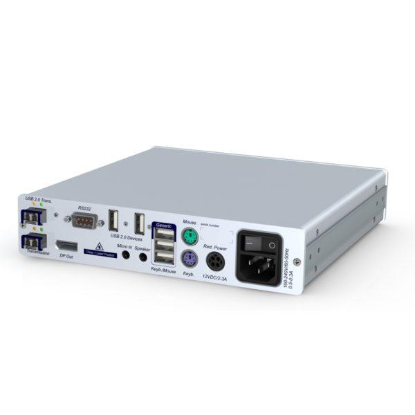 DP-Vision-Fiber Déport KVM DisplayPort Fibre optique