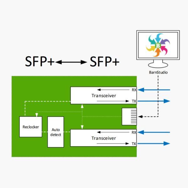 BarnMini-22 Convertisseur SFP+ / SFP+