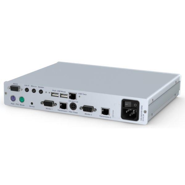 Déport KVM VGA Double écran CATVision-MC2