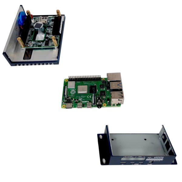 Kit boitier UNO-220 + Raspberry Pi 4