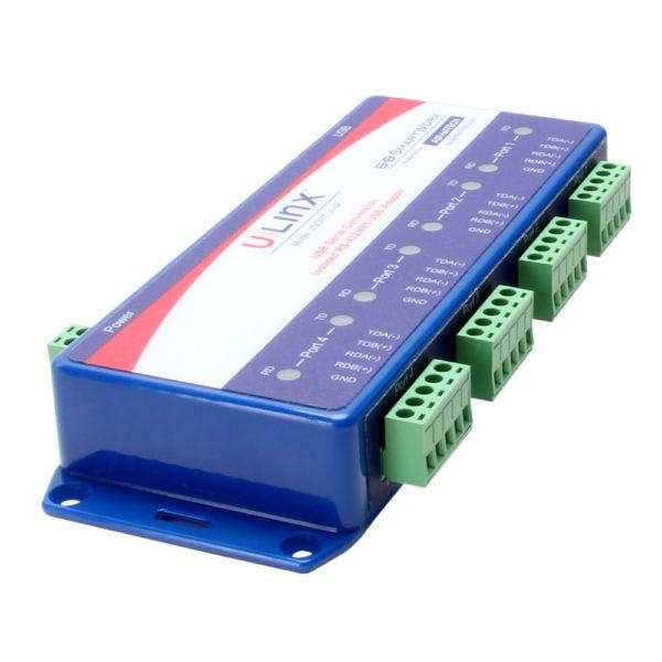 Convertisseur USB 4 ports RS-422/485 Modbus