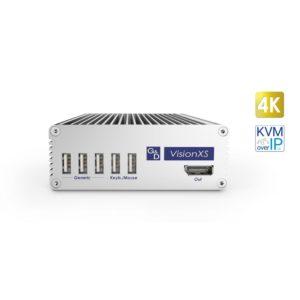 VisionXS-DP-IP-UHR Déport KVM sur IP 4K@60Hz