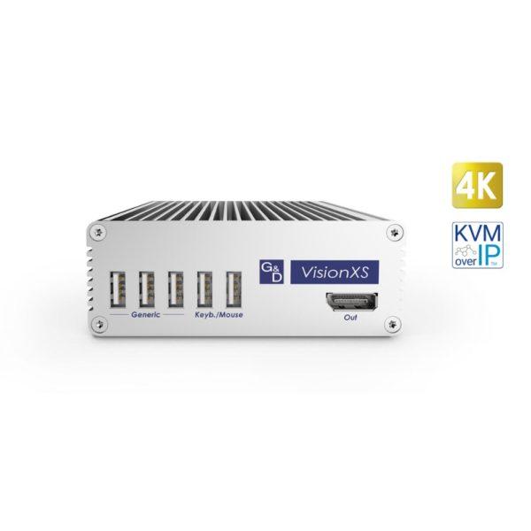 VisionXS-DP-IP-UHR Déport KVM DisplayPort sur IP